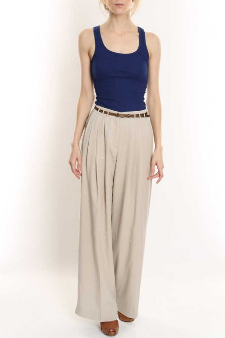Park Avenue Pleat Front Trousers